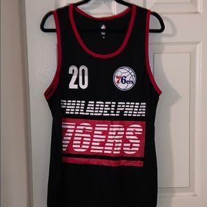 Men's Philadelphia 76ers Fultz Dry Fit Tank